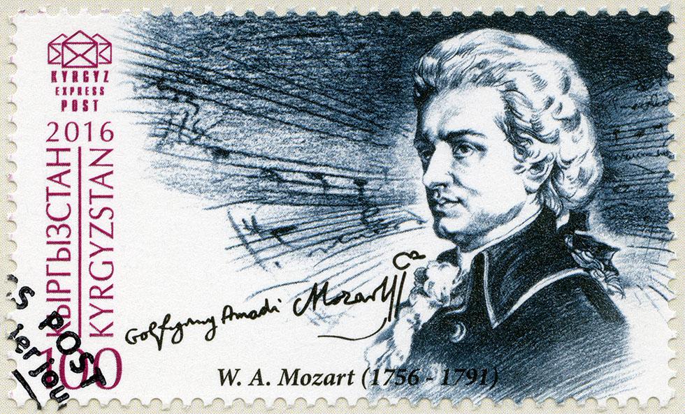 Sull'aria van Mozart