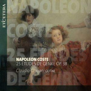 Recensie Coste - 25 Études de genre op. 38 Claudio Giuliani