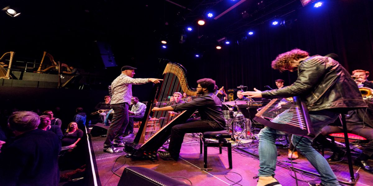 Remy van Kesteren op harpfestival Utrecht