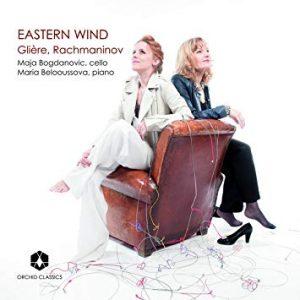 Recensie Gliere, Rachmaninoff - Eastern Wind