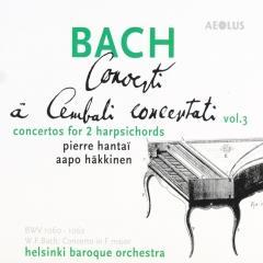 J.S. BACH - Concerti à Cembali concertati vol. 3