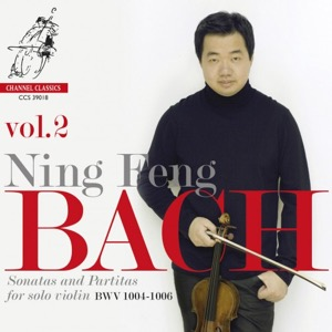 J.S. BACH Sonatas and Partitas for Solo Violin BWV 1001-1006