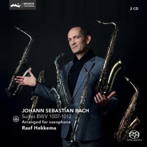J.S. BACH - Suites BWV 1007-1012 gearrangeerd