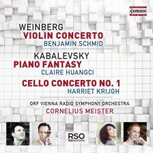 WEINBERG, KABALEVSKI - Violin Concerto