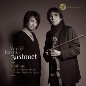 Recensie BRAHMS Two Violo Sonatas Op. 120 – Two Piano Rhapsodies Op. 79