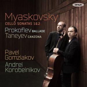 MJASKOVSKI, PROKOFJEV, TANEJEV - Cello Sonatas