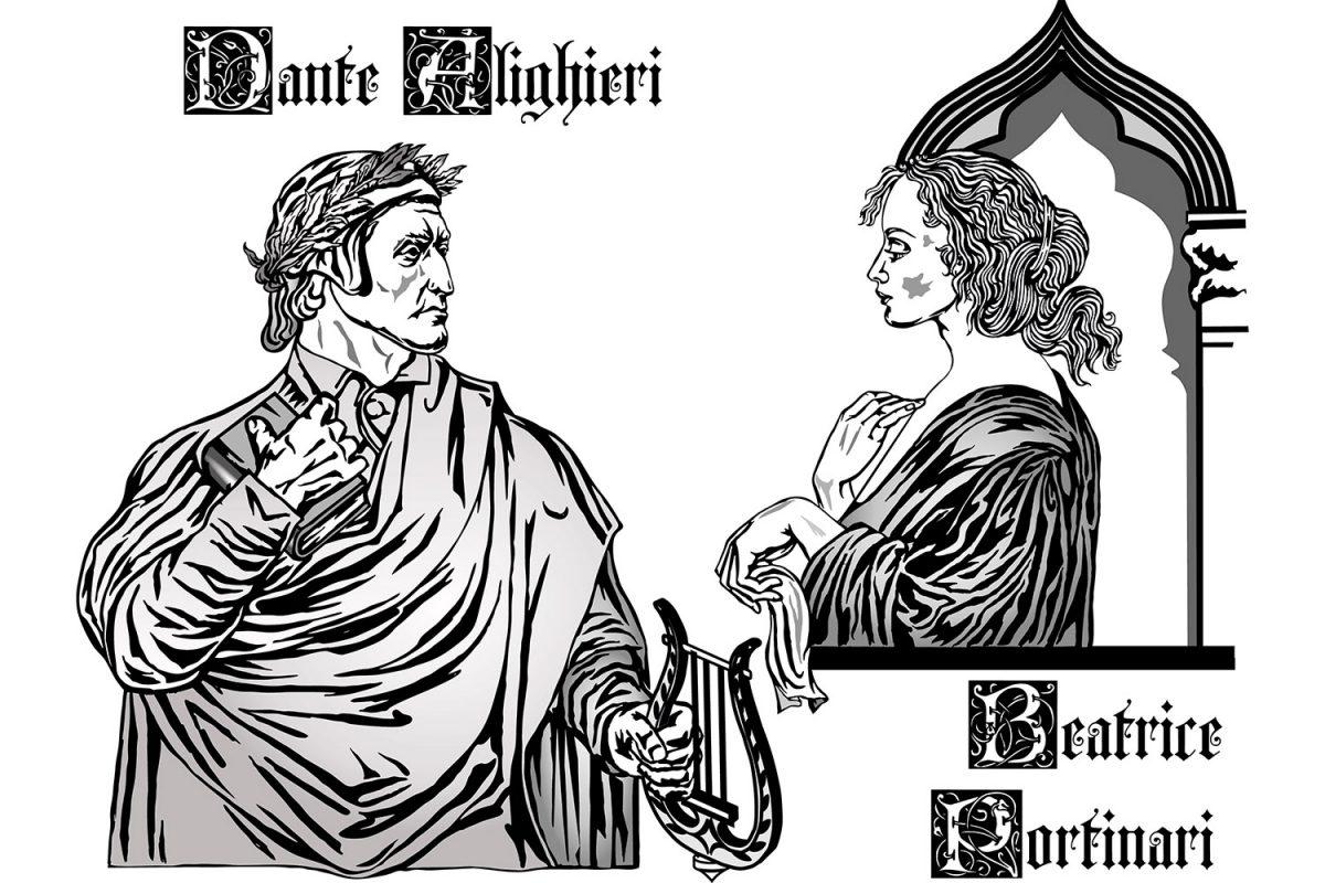 Dante en Beatrice