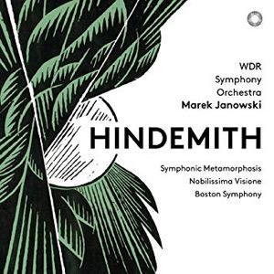 HINDEMITH Symphonic Metamorphosis – Nobilis- sima Visione – Boston Symphony