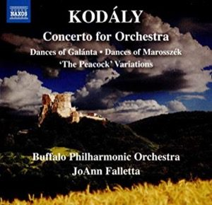 KODÁLY Concerto for Orchestra – Dances of Galánta – Dances of Marosszék – 'The Peacock' Variations