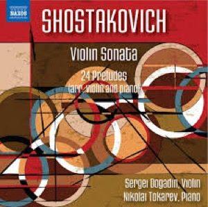 SJOSTAKOVITSJ Violin Sonata – 24 Preludes