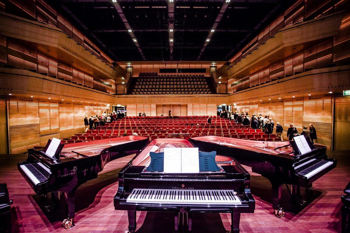 De YPF Piano Competition 2019 vindt plaats in Muziekgebouw aan 't IJ in Amsterdam. Foto: Foppe Schut