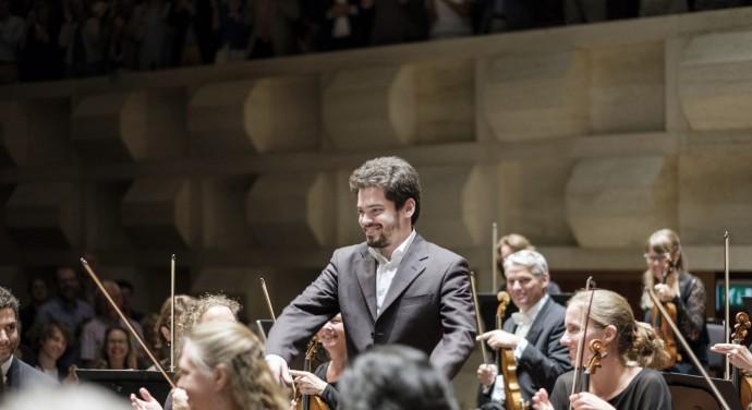 Lahav Shani van het Rotterdams Philharmonisch Orkest
