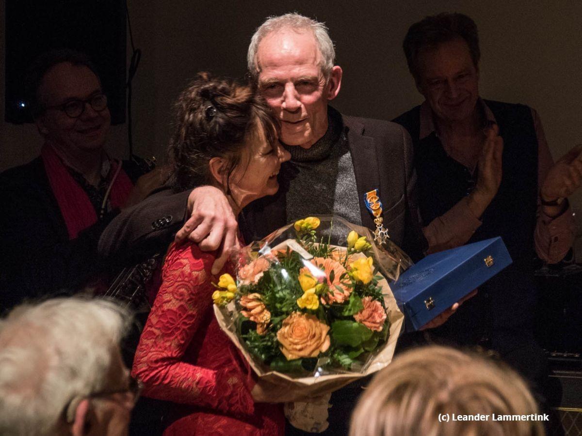 Johan Dorrestein ontvangt koninklijke onderscheiding