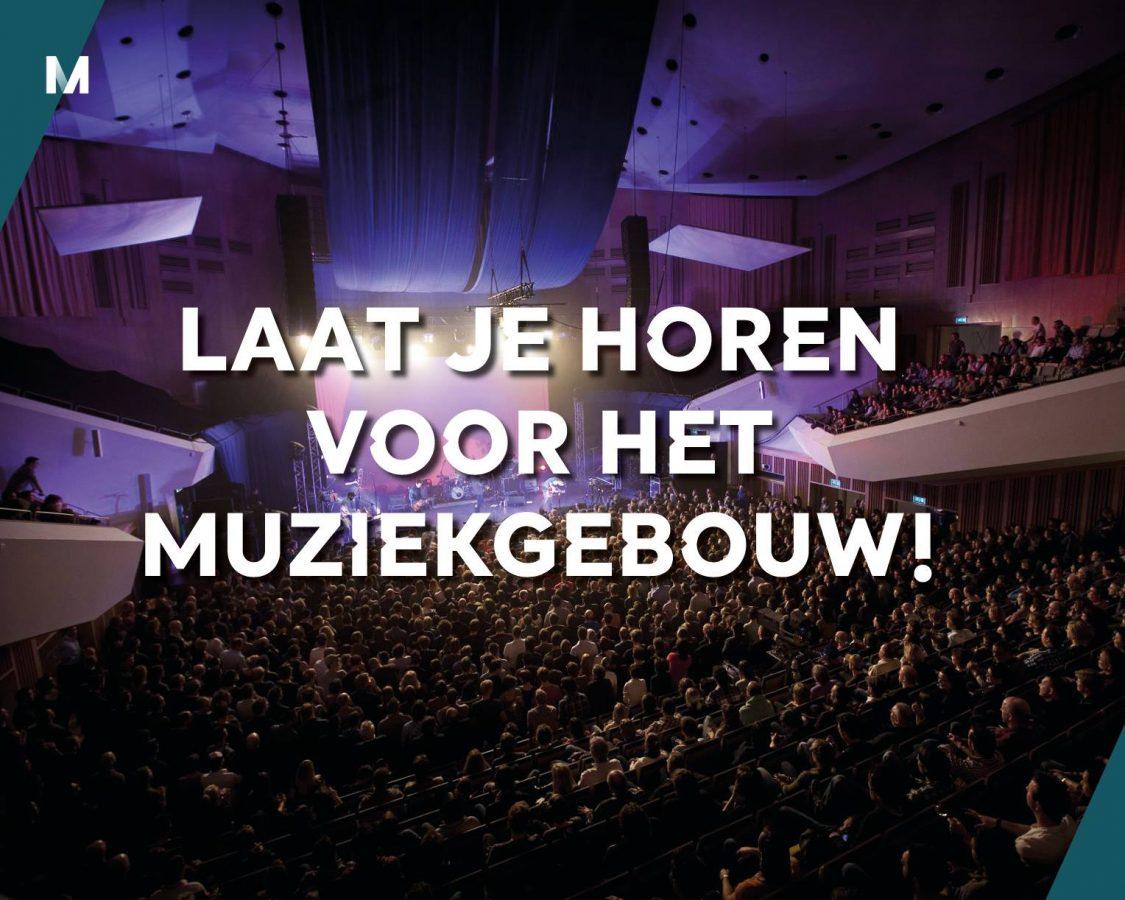 Muziekgebouw Eindhoven roept muziekliefhebbers op tot actie - Luister magazine