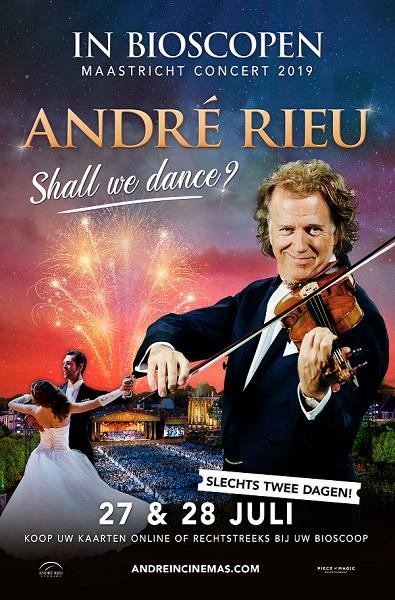 André Rieu verschijnt op het witte doek. Zijn beroemde Maastricht concerten zijn opgenomen en zie je op 27 en 28 juli – Luister magazine