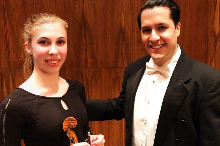 Blogger en violiste Sanne Zwikker schrijft over haar samenwerking net Felipe Tristan - Luister magazine voor klassieke muziek