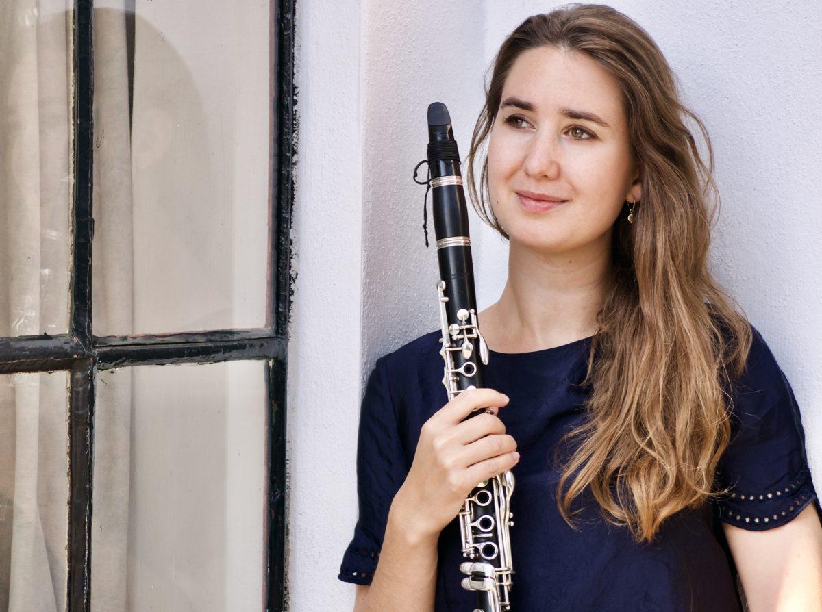 Klarinettiste Marieke Vos