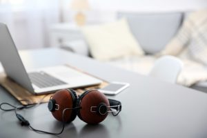 muziek thuiswerken
