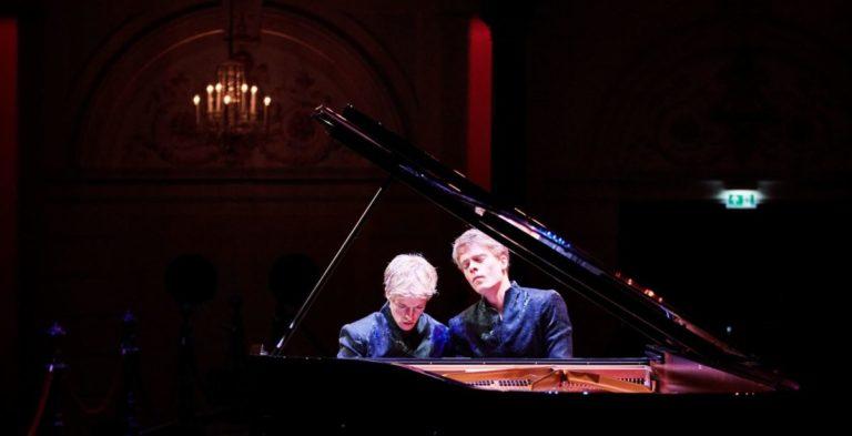 Lucas & Arthur Jussen in Het Concertgebouw. Foto: Eduardus Lee.