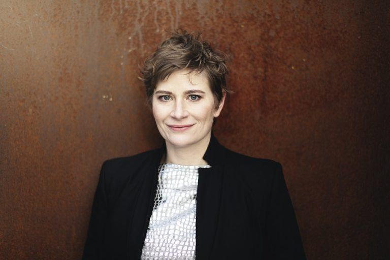 Anja Bihlmaier, de nieuwe chef-dirigent van Residentie Orkest Den Haag
