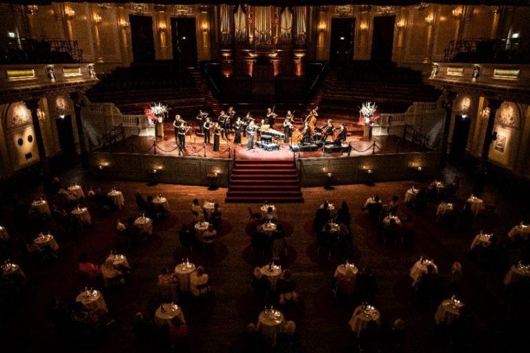 De Grote Zaal van Het Concertgebouw in de 1888-opstelling. Foto: Melle Meivogel