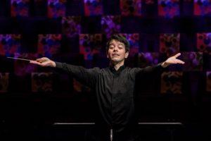 Carlos Agreda, een van de finalisten van de International Conducting Competition Rotterdam. Foto: Allard Willemse