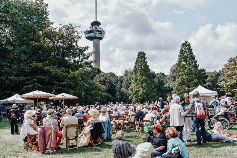 Weekend van de Romantische Muziek in Het Park bij de Euromast in Rotterdam.