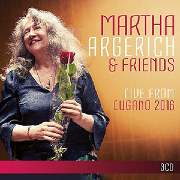 MUSIC20  - Classical MARTHA ARGERICH & FRIENDS Live From Lugano 2016 Warner Classics 0190295831653 (3 CDs) / *****##########music20##########SEE CAPTION