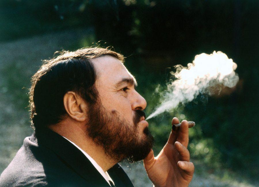 Luciano Pavarotti concerten