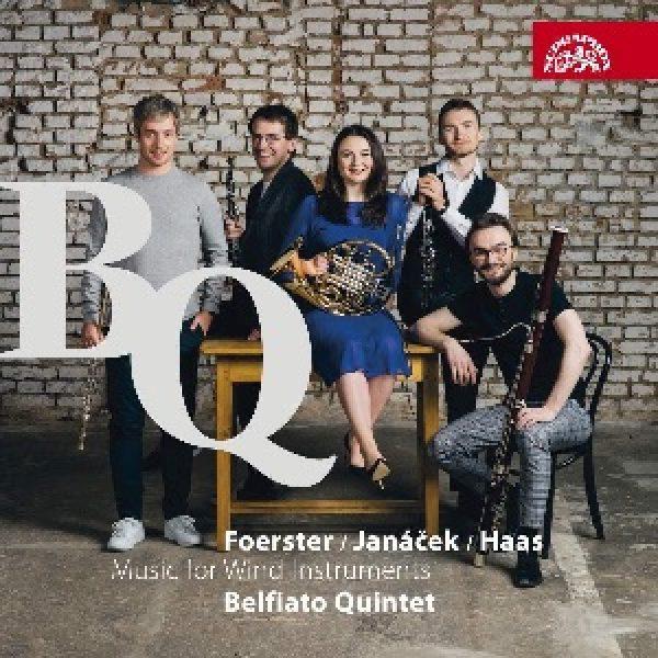 FOERSTER, JANÁCEK, HAAS - Music for Wind Instruments