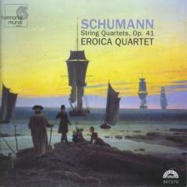 SCHUMANN - Strijkkwartetten, op. 41